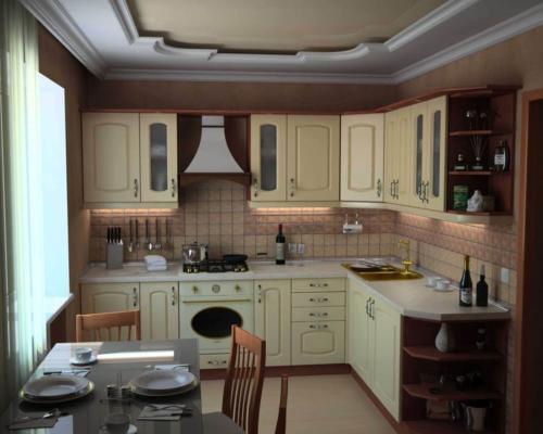 Кухня МДФ 008 цена: 67800 руб.
