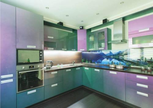 Кухня Пластик 003 цена: от 21000 руб. пог./метр