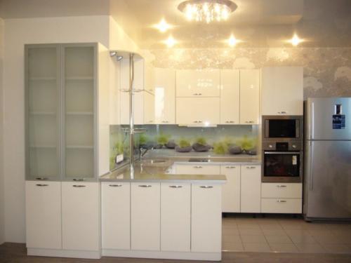 Кухня Пластик 005 цена: от 21000 руб. пог./метр
