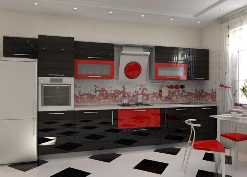 Кухня Пластик 007 цена: 85000 руб.