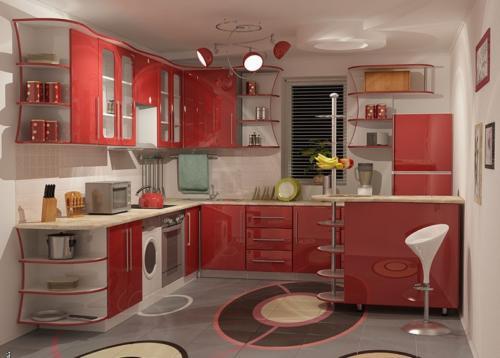 Кухня Пластик 008 цена: от 21000 руб. пог./метр