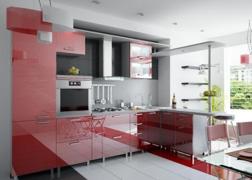 Кухня Пластик 009 цена: 81000 руб.