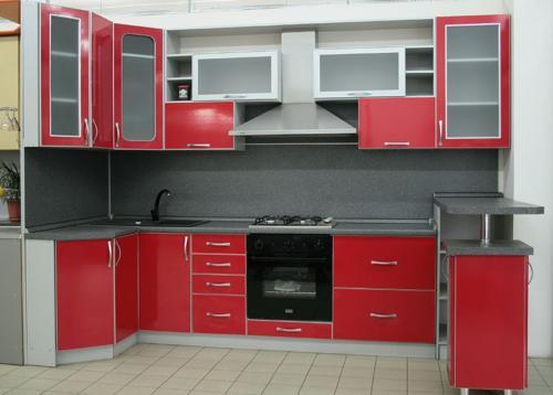 Кухня Пластик 012 цена: 121500 руб.