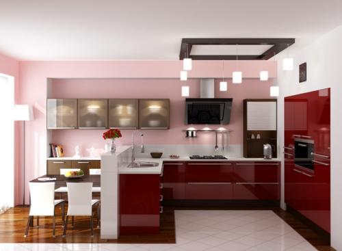 Кухня Пластик 024 цена: от 21000 руб. пог./метр