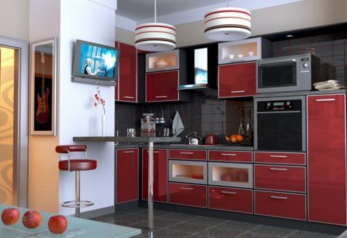 Кухня Пластик 028 цена: 77800 руб.