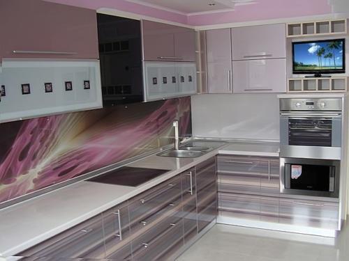Кухня Пластик 029 цена: от 21000 руб. пог./метр