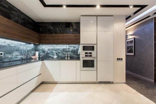 Кухня Угловые 001 цена: от 17500 руб. пог./метр