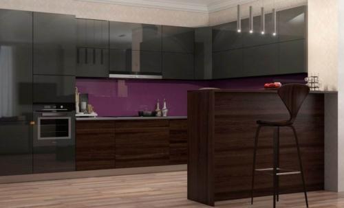 Кухня Угловые 018 цена: от 17500 руб. пог./метр