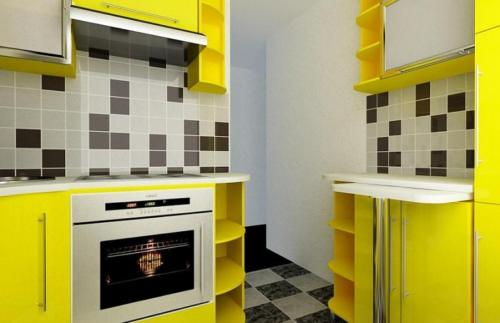 Кухня Эконом 003 цена: от 12500 руб. пог./метр