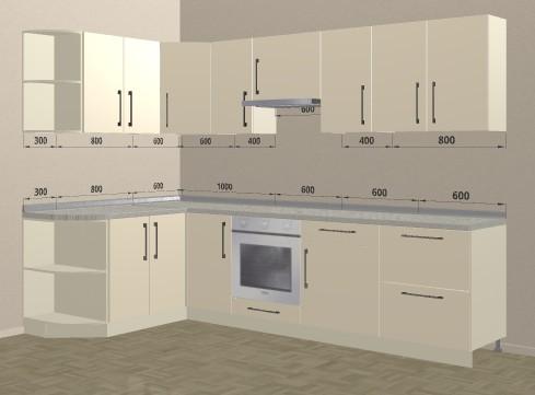 Кухня Эконом 033 цена: от 12500 руб. пог./метр