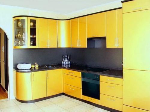 Кухня Эмаль 017 цена: от 23000 руб. пог./метр