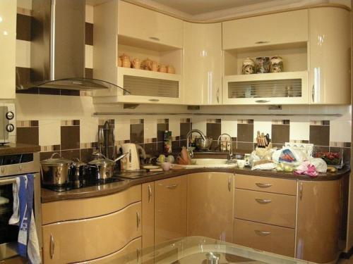 Кухня Эмаль 018 цена: от 23000 руб. пог./метр