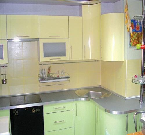 Кухня Эмаль 021 цена: от 23000 руб. пог./метр