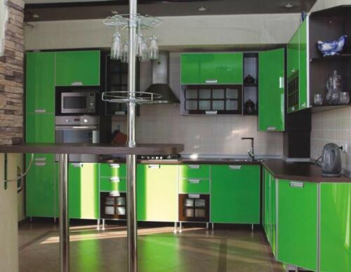 Кухня Оливо 3.6*2.3м. Пластик цена: 129800 руб.