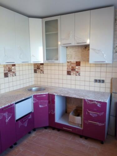 Кухня Миф-2  2*2м. МДФ цена: 64000 руб.